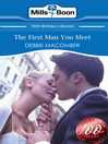 The First Man You Meet (eBook)